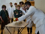 "Science Scouts get the ""Big Bang Theory"" at SCA"