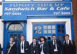 Business Students Grill 'Sunny Side Up' Cafe