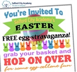 Easter Egg-stravaganza 1st April 4.00-6.00pm