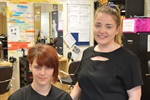 Students Get Their Hair in Shape