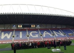 Singing at the Rugby League Autumn Internationals!
