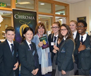Local Author Inspires Salford City Academy Young Writers