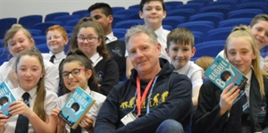 Double Author Visit Inspires Young Writers