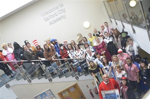 SCA Students And Staff Put On A Show For World Book Day
