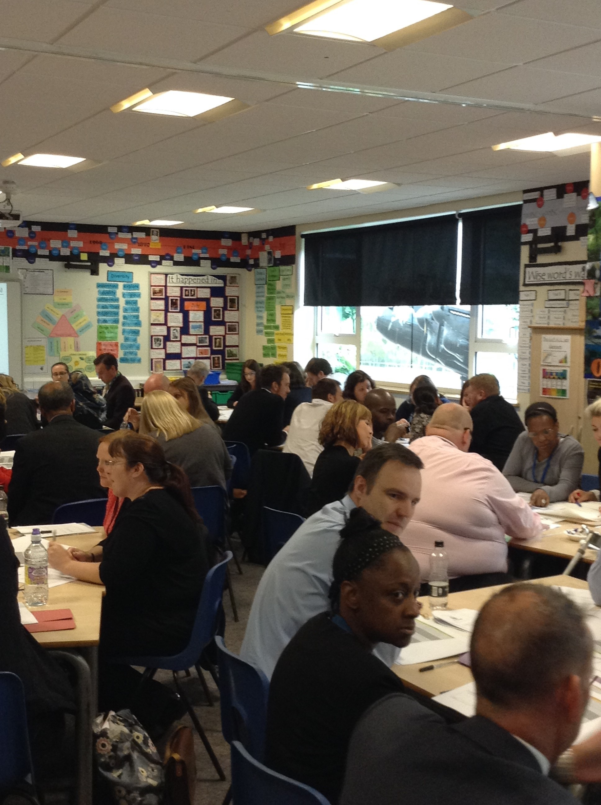 staff link up for national cpd day